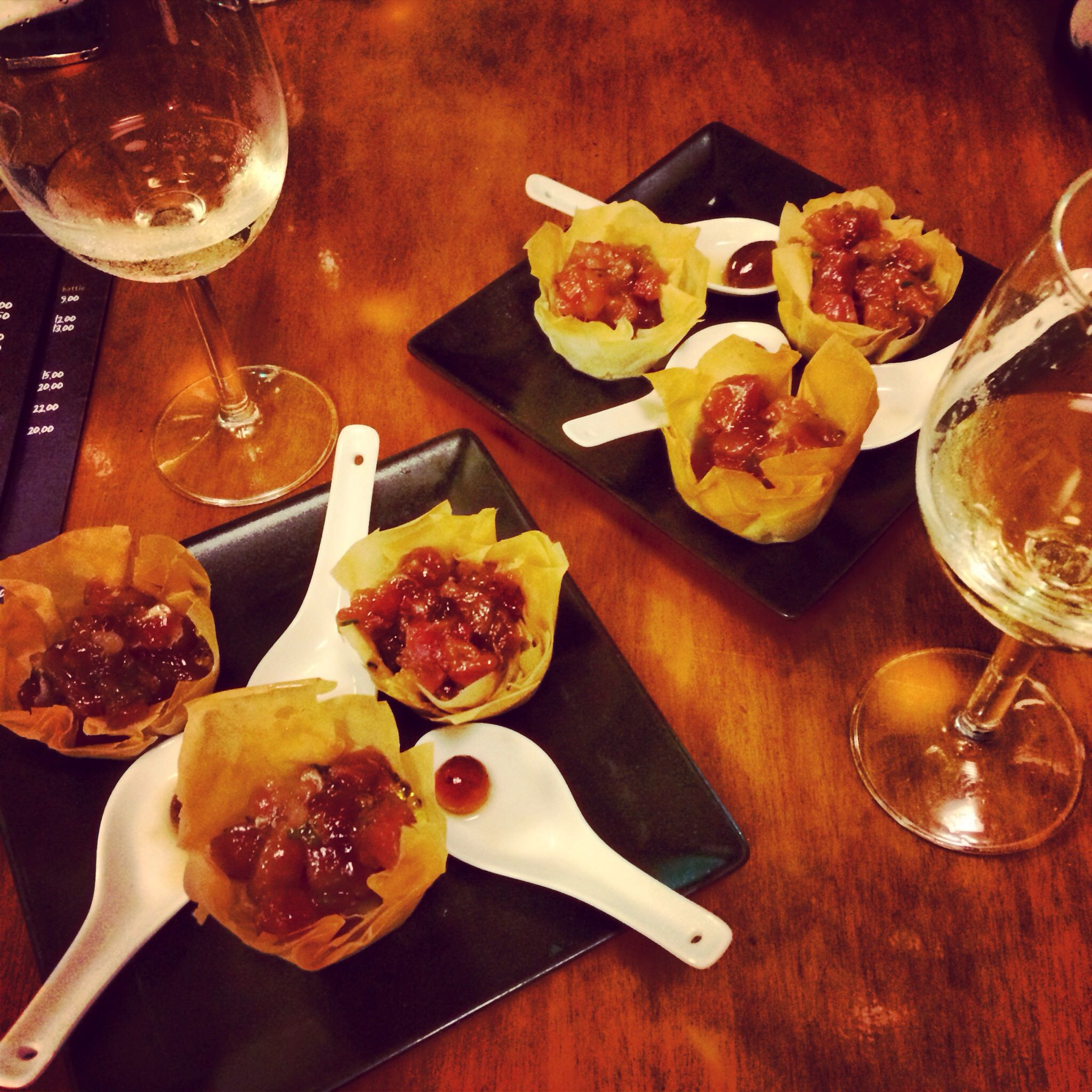 Buscant A Nemo Tapa De L Any 2013 De Catalunya Bar El Cable Sitges The Most Amazing Take On Tapas In Sitges Nattes