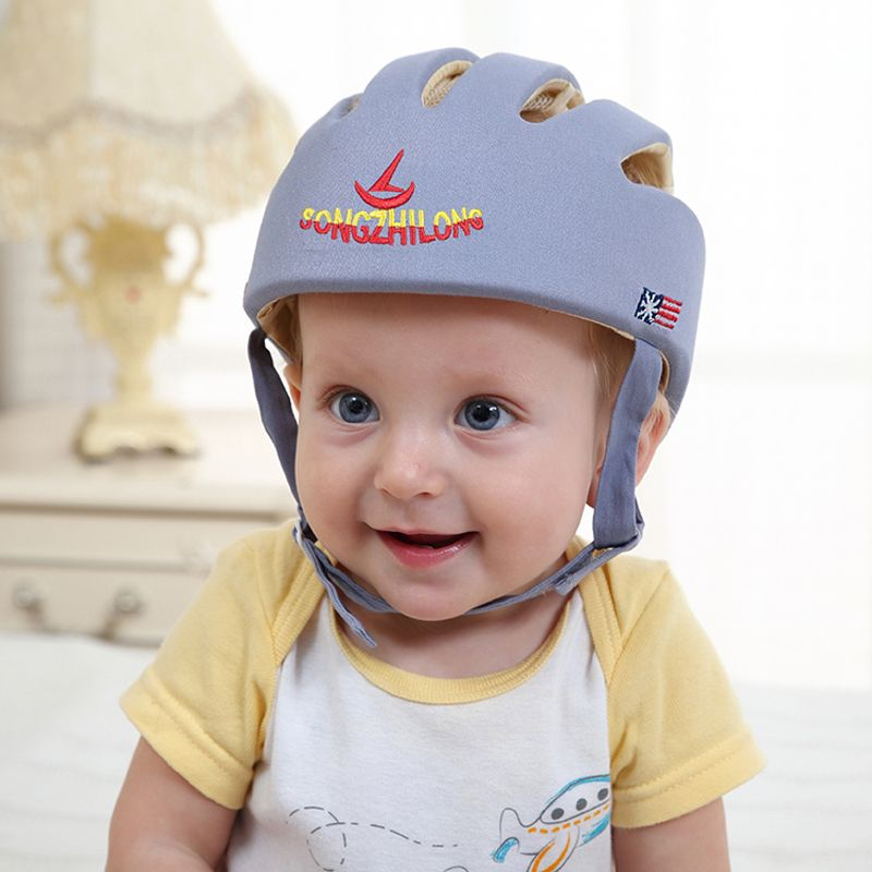 Baby Kid Toddler Safety Adjustable Helmet Headguard Cap Protective Harnesses Hat