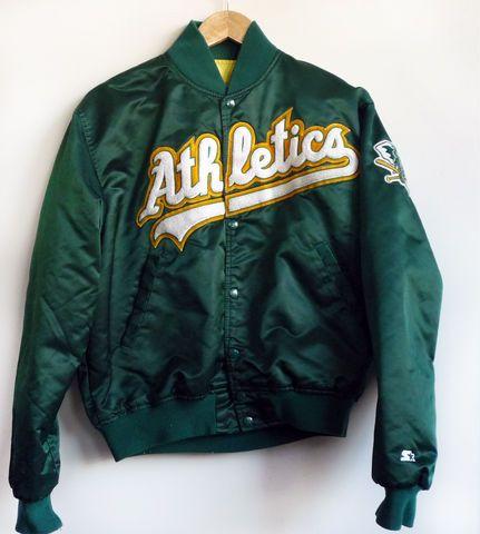 Oakland Athletics Starter Jacket Ok I Soo Need One Of These U M