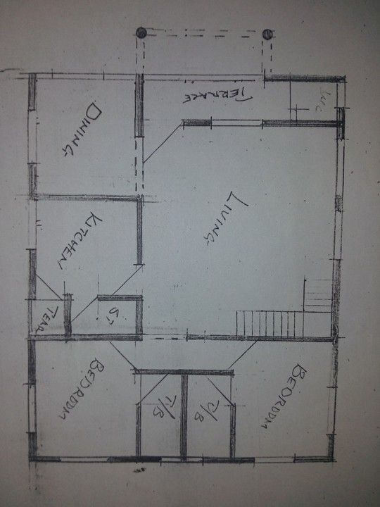 What Is The Estimated Cost For Decking 2 Bedroom Duplex Properties Nigeria In 2020 Home Design Floor Plans Floor Plan Design Deck