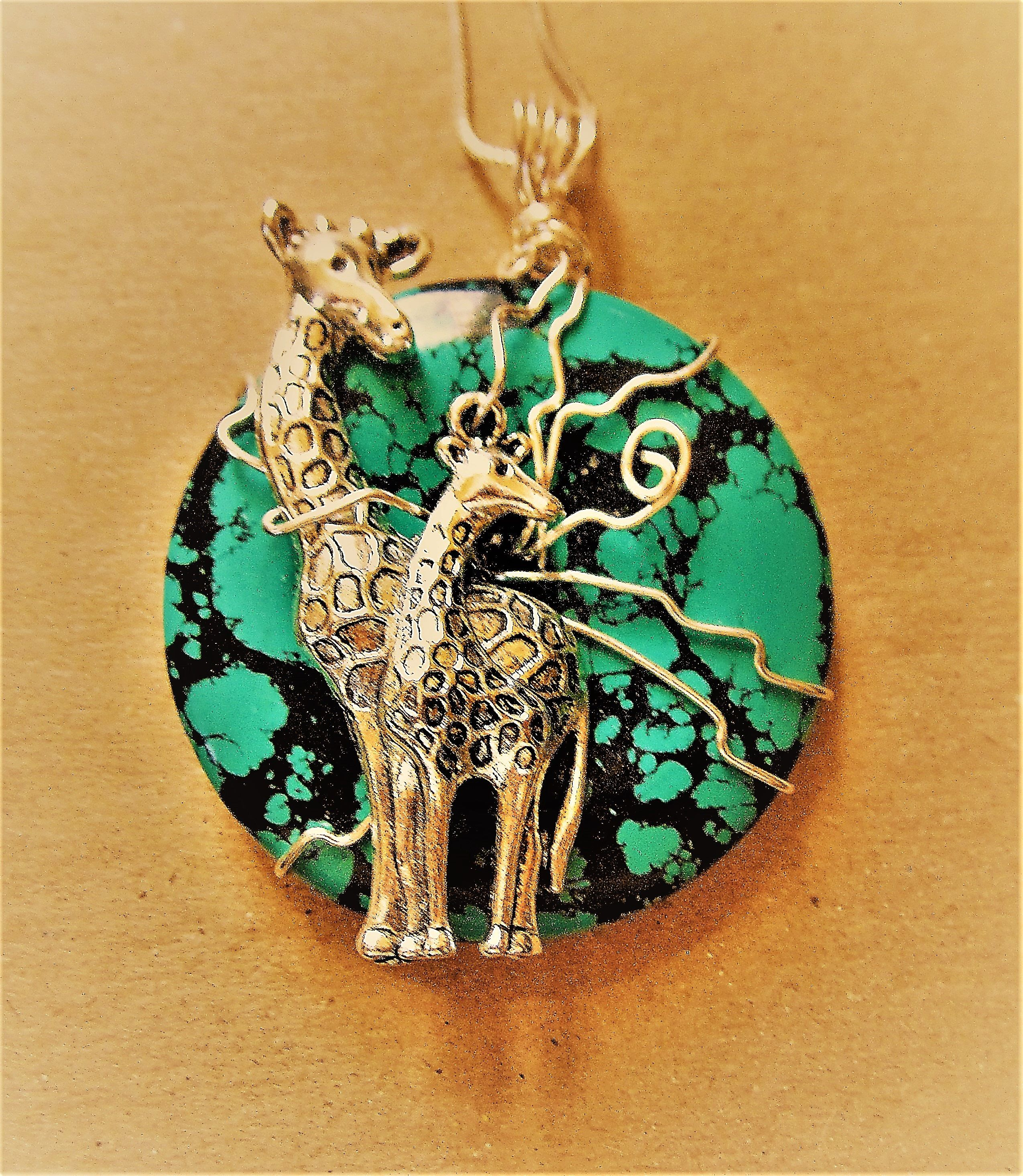 product necklace giraffe pendant