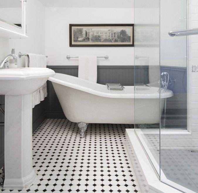 Falken Reynolds Desire To Inspire Desiretoinspire Net Edwardian Bathroom White Bathroom Tiles Black Bathroom