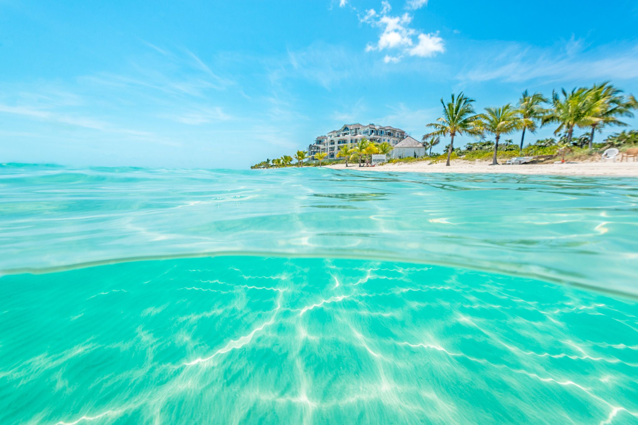 The Turquoise Waters Of Long Bay Beach Providenciales Turks And Caicos
