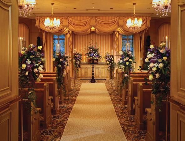 Bellagio Wedding Chapel Ceremony Room