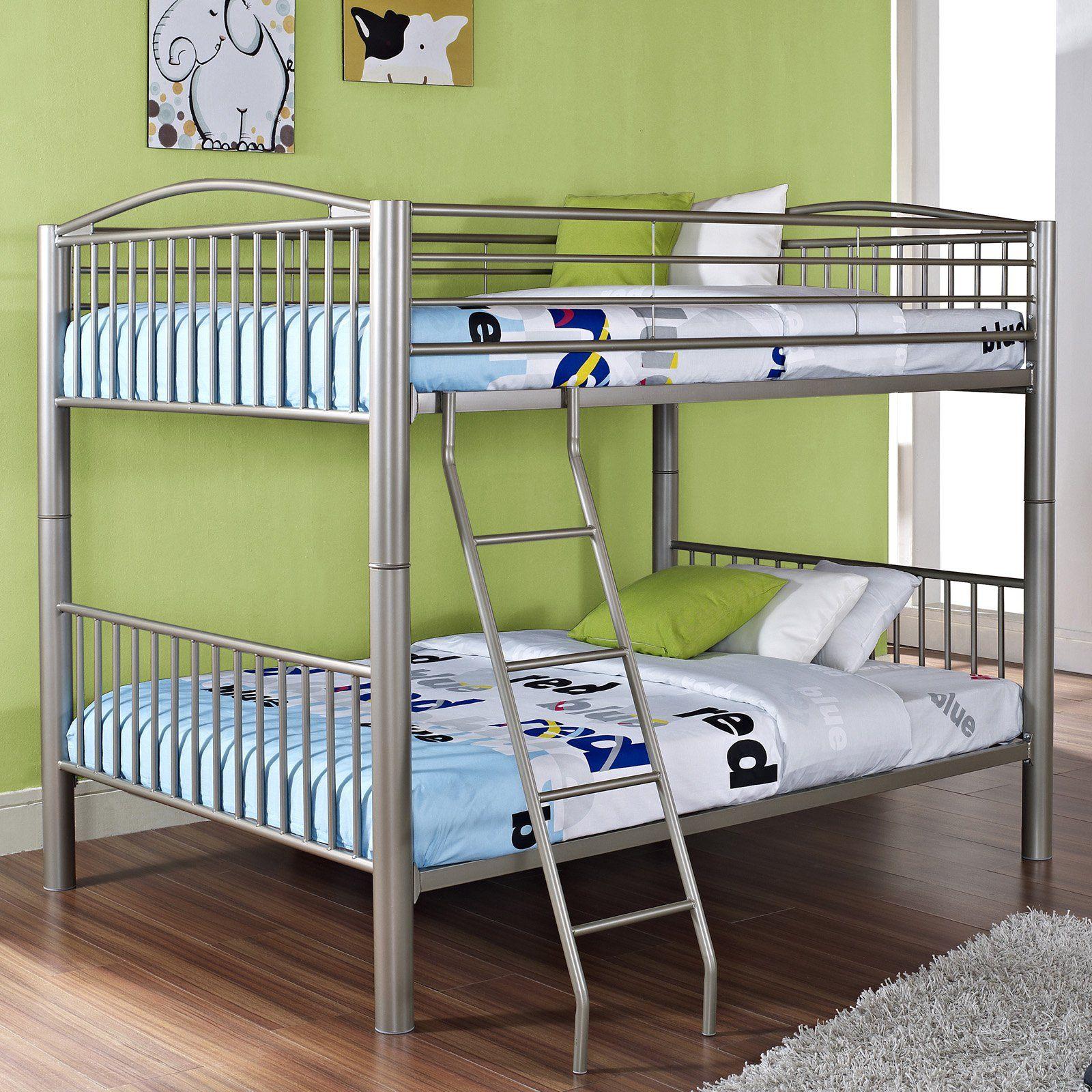 Powell Full Over Full Bunk Bed Bett Etagenbett Kinder Etagenbett