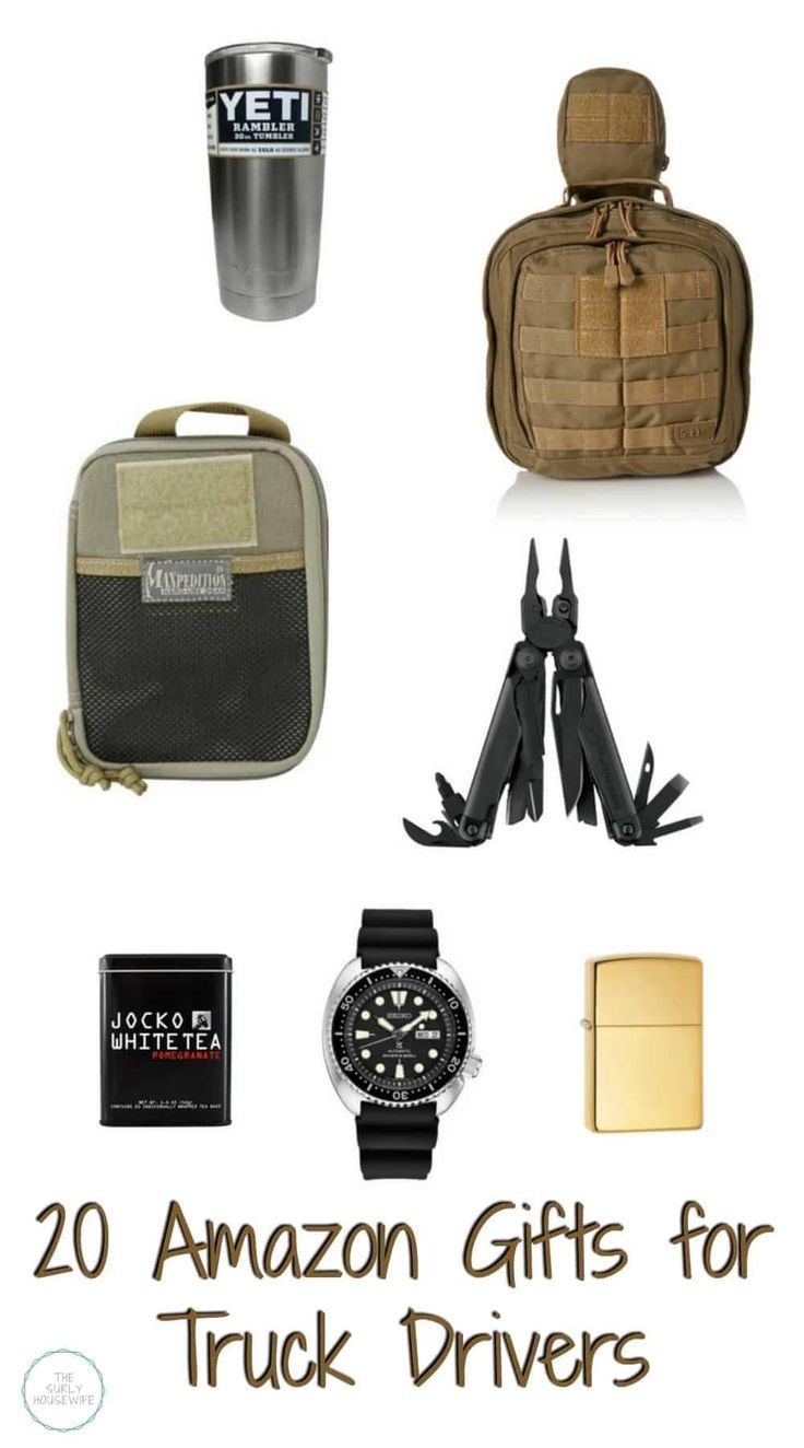 Gift guide for truck drivers truck driver gifts truck