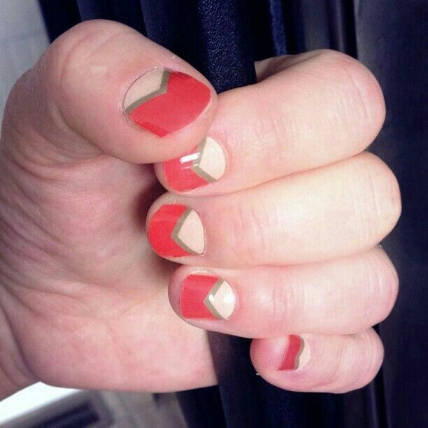 Coral Diamond Jamberry Nail Wraps Why Spend Hours On Difficult Nail