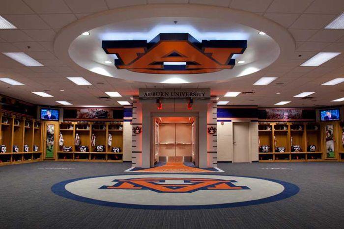Auburn University Football Locker Room Can T Wait Til Next Fri