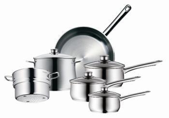 Bargain 539 Was 1 299 Wmf Diadem Plus 6 Piece Cookware Set