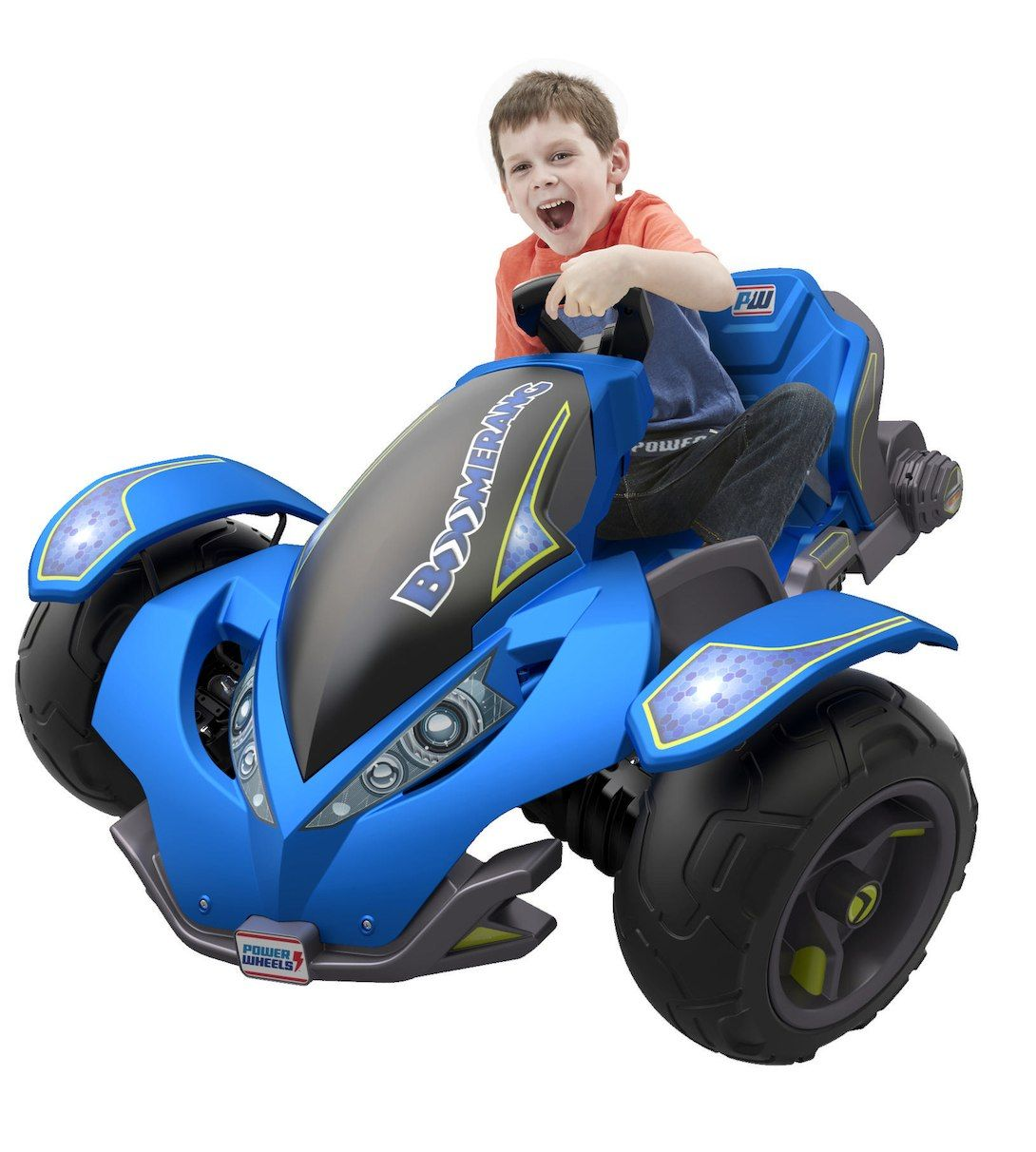 The Power Wheels Boomerang Vehicle Is A Young Racers Dream Battery Wiring Harness Allowing Kids To Tilt And Spin Into Awesome Fully Controlled Drifts