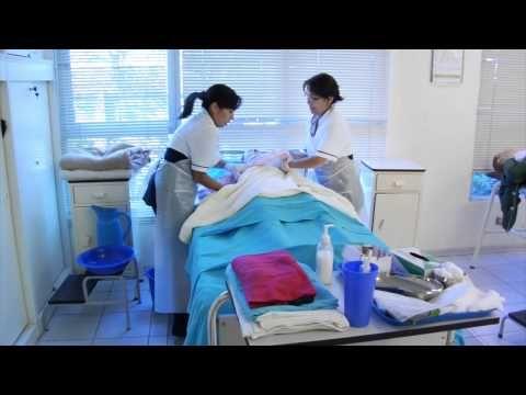 Bano En Cama Mp4 Escuela De Enfermeria Practicas De Enfermeria