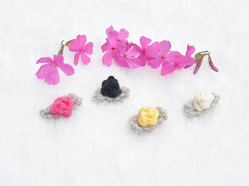 Teeny Tiny Flowers Crochet Ideas Pinterest Tiny Flowers