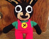 Children's character doll inspired by Bing - pinned by pin4etsy.com