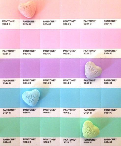 Pastels for the Fall/Winter season as well