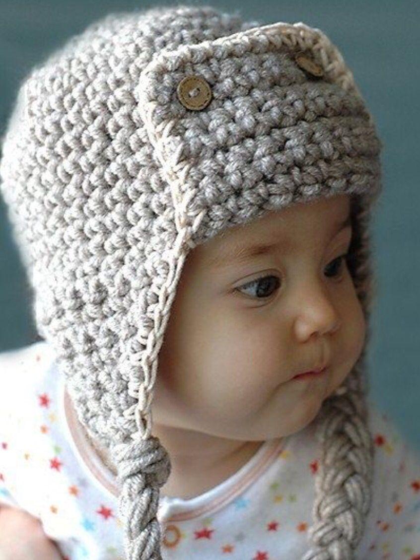 Pin by charlotte adams on crochethats pinterest crochet 10 free pilot crochet hat for kids bankloansurffo Image collections