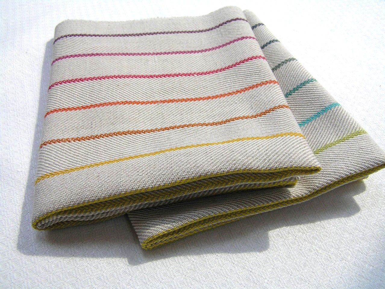 dish towel woven by hand geschirrtuch handgewebt baumwolle leinen weaving pinterest. Black Bedroom Furniture Sets. Home Design Ideas