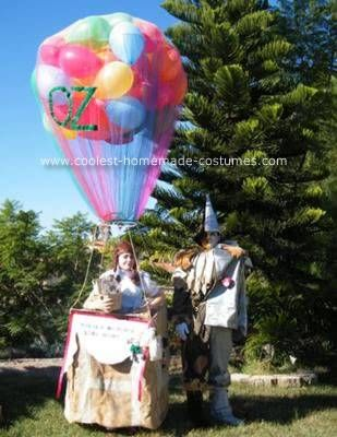 Coolest Homemade Dorothy And Wizard Of Oz Group Costume