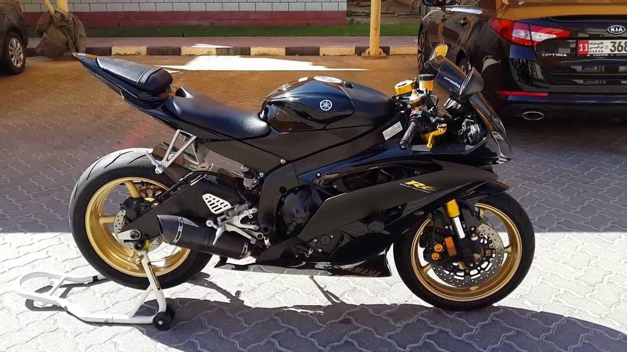 Yamaha R6 Black Gold Motorcycles Bike Masters Degree Motorbikes Biking Motors