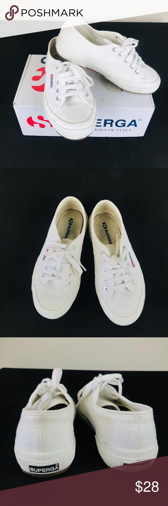 ❤️ SUPERGA WHITE 2750 COTU CLASSIC