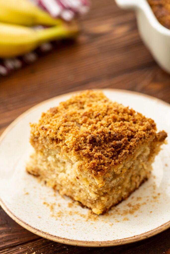 Banana Bread Crumb Cake | Recipe | Banana bread cake ...