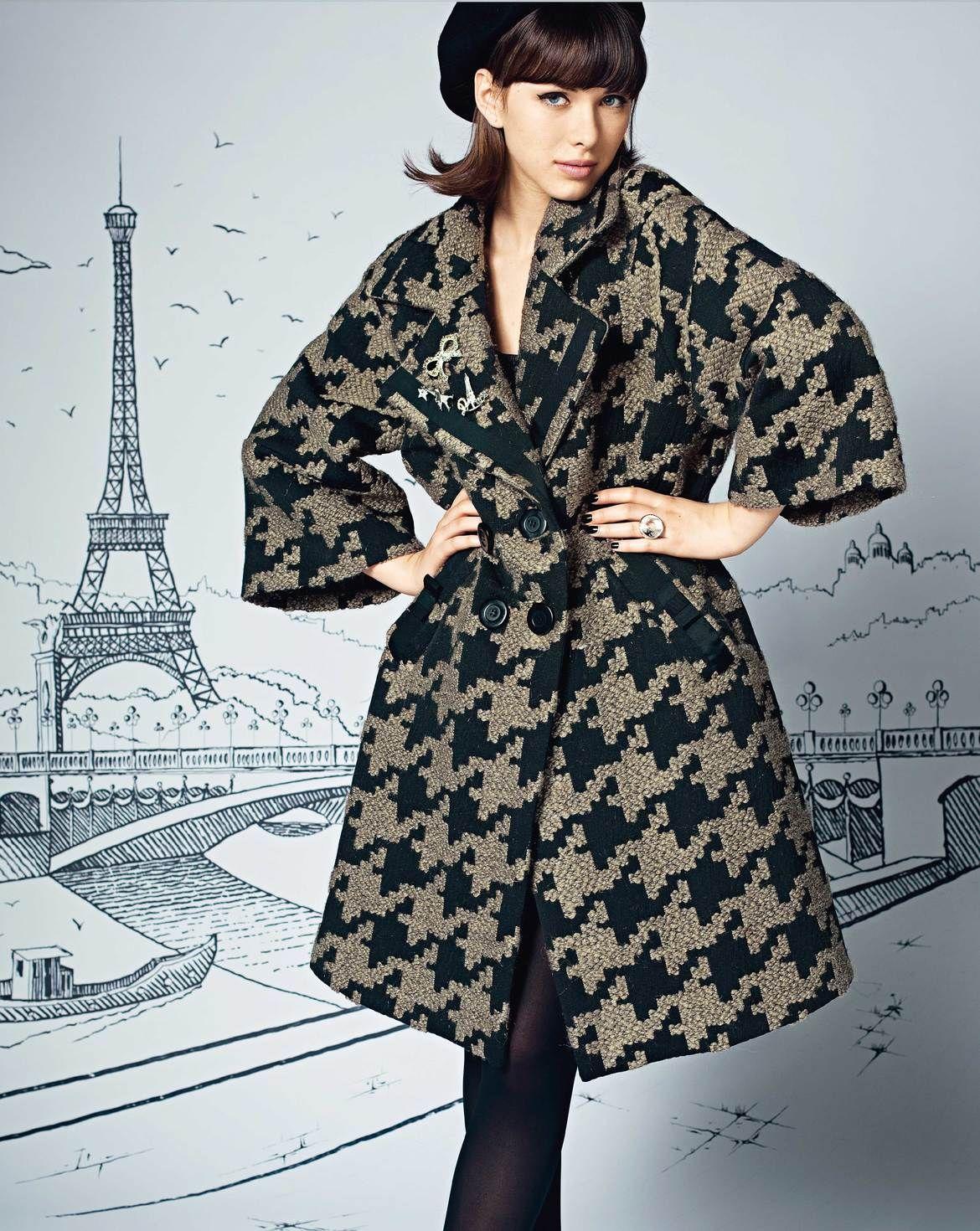 burda style, nähen, Schnittmuster - Kleidung muss nicht eng anliegen ...
