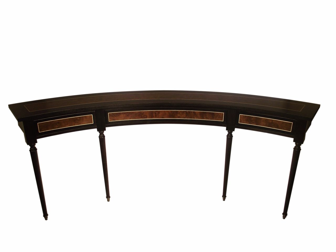 Sofa Tables Pinterest Wide Legs Curved Milo Baughman For Thayer Coggin