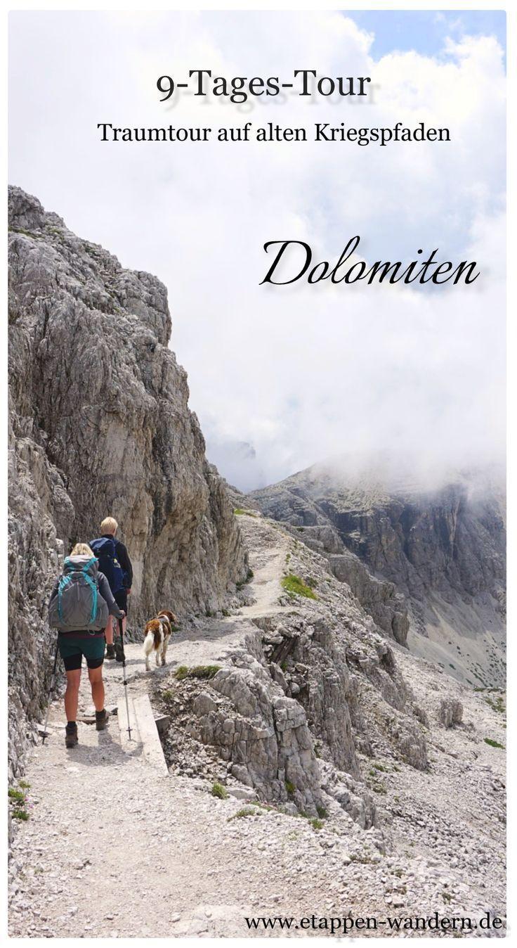 Fernwandern in den Dolomiten - Etappen-Wandern