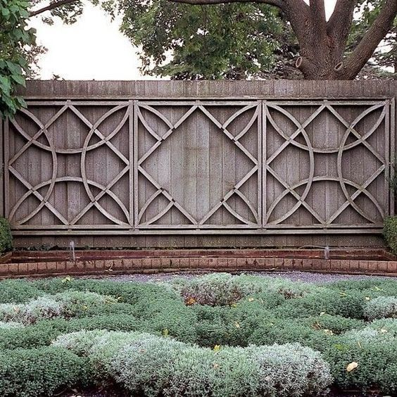 Fantastic And Fancy Fence Design Ideas
