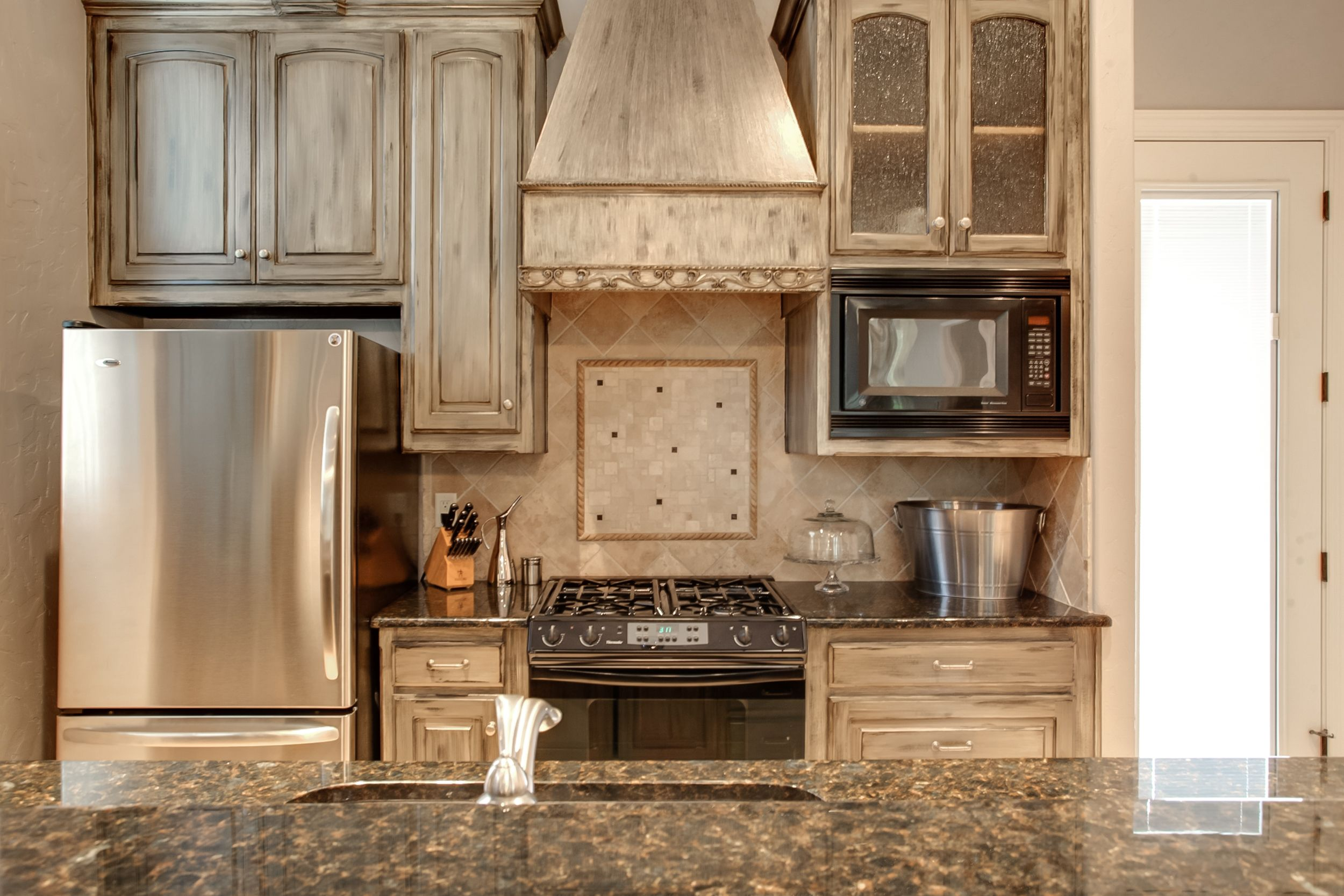 Convenient 2nd #kitchen, perfect for making a midnight ...