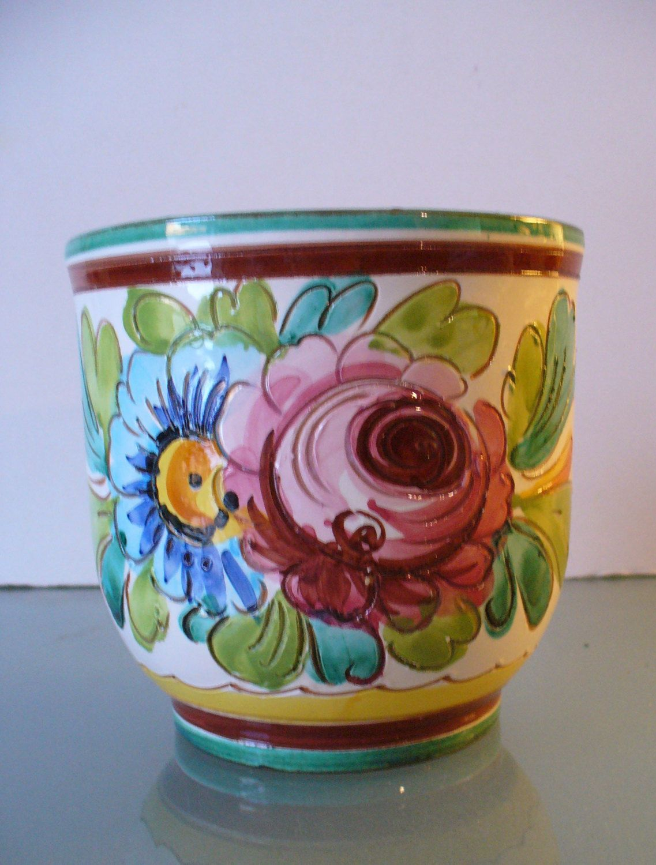 Made In Italy Ceramic Flower Pot Ceramic Flowers