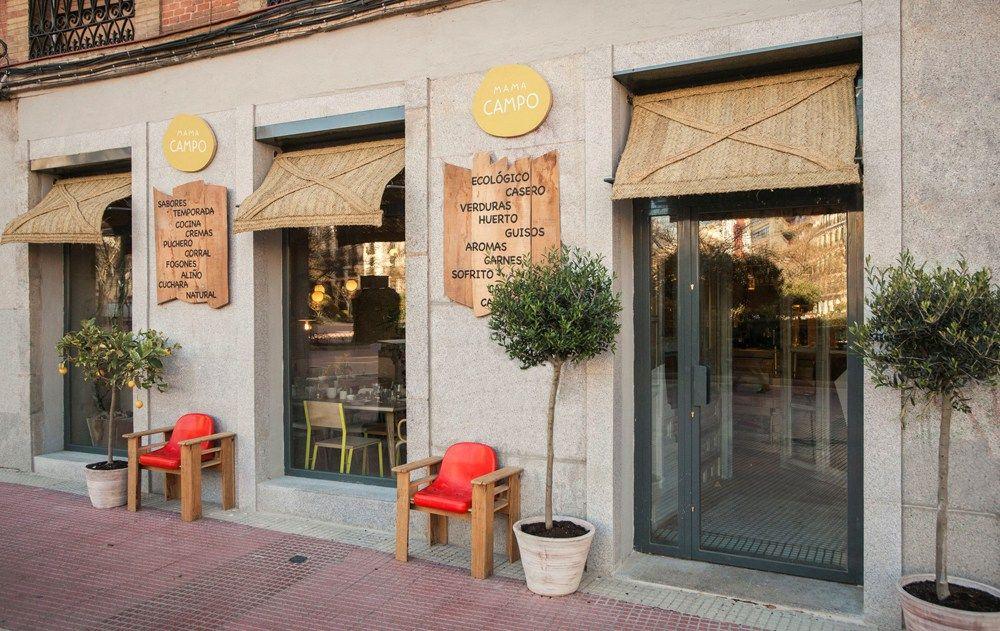 Mama campo madrid restaurante y alimentaci n ecol gica - Interiores de restaurantes ...