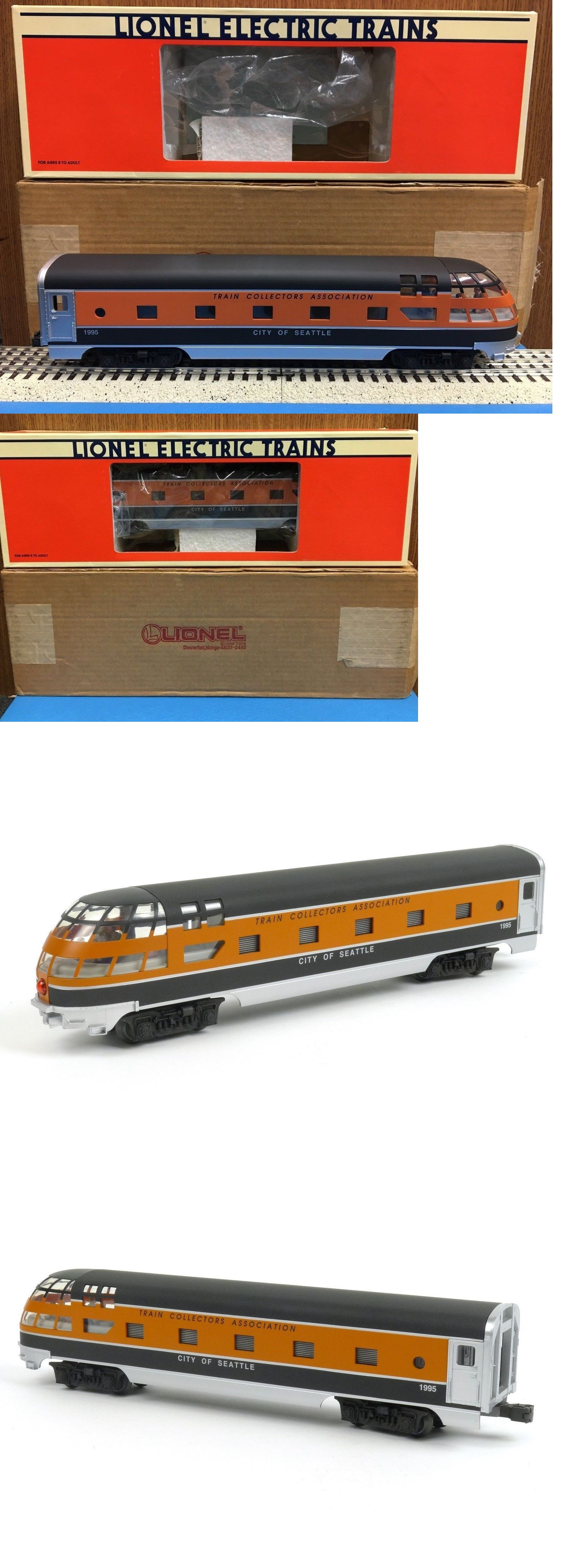 Passenger Cars 122586 Lionel 6 52062 Tca City Of Seattle Skytop