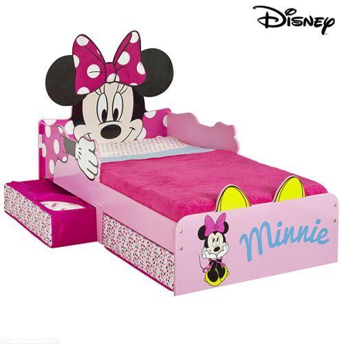 lit enfant minnie avec rangements disney 19900 profitez au meilleur prix du lit enfant disney minnie avec rangements pour un matelas de dimension 70 - Lit Minnie