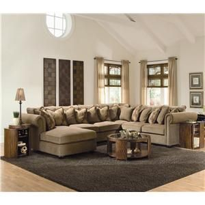 Covington 4 Piece Sectional Sofa With Chaise By Bernhardt Belfort Furniture Living Room Rug Placement Sweet Home Design Home Living Room
