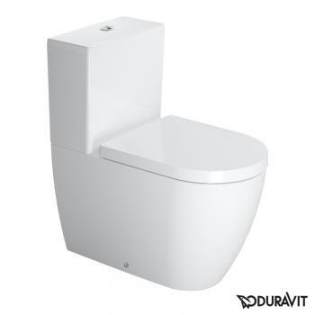 Duravit Me By Starck Floor Standing Close Coupled Washdown Toilet White With Wondergliss Duravit Toilet Toilet Installation