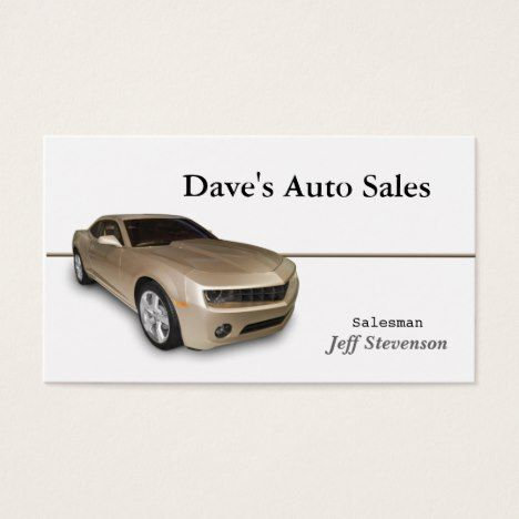 Used car dealer business card impressions business essentials used car dealer business card reheart Image collections