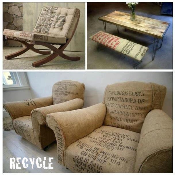 ecodeco muebles para tu hogar hechos de material reciclado culturagreen recycle muebles de. Black Bedroom Furniture Sets. Home Design Ideas