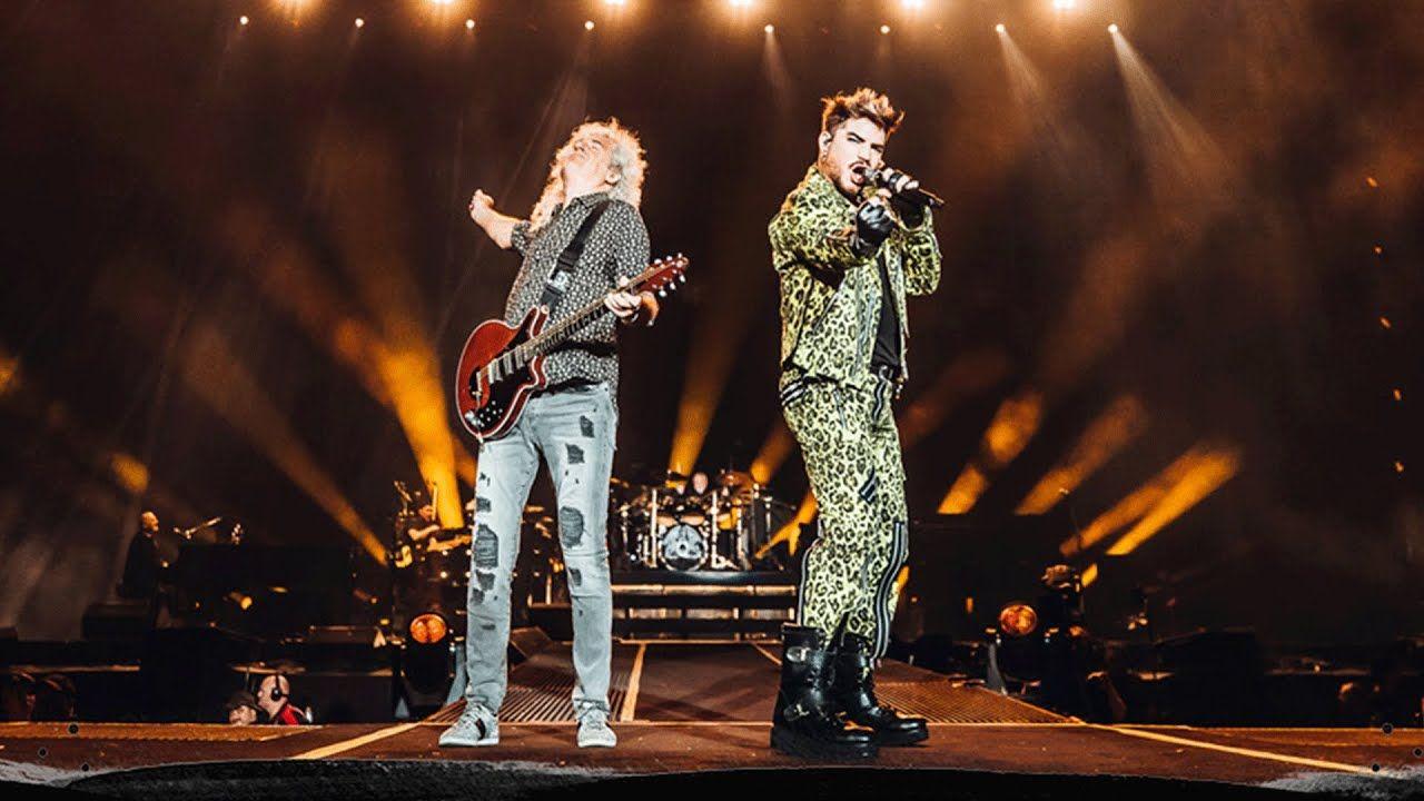 Queen + Adam Lambert Radio Ga Ga Fire Fight Australia