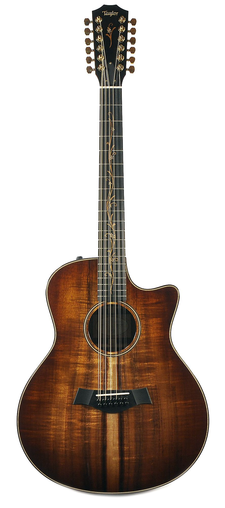 taylor k66ce 12 string grand symphony hawaiian koa chicago music exchange guitars in 2019. Black Bedroom Furniture Sets. Home Design Ideas
