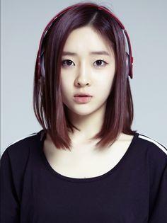 Long Bob T Ara S Ahreum Kpop Hair Color Asian Korean Hair Color Asian Hair