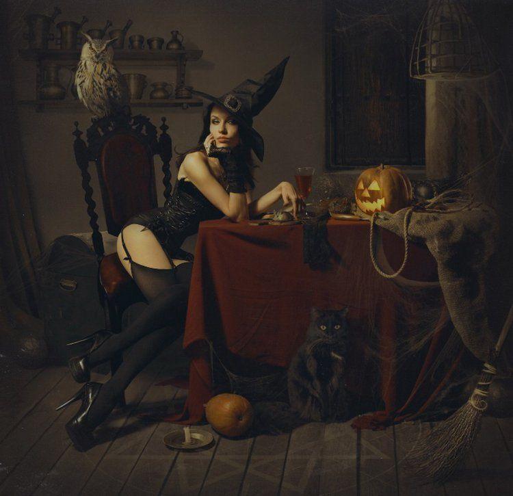 Ведьма прикол картинка
