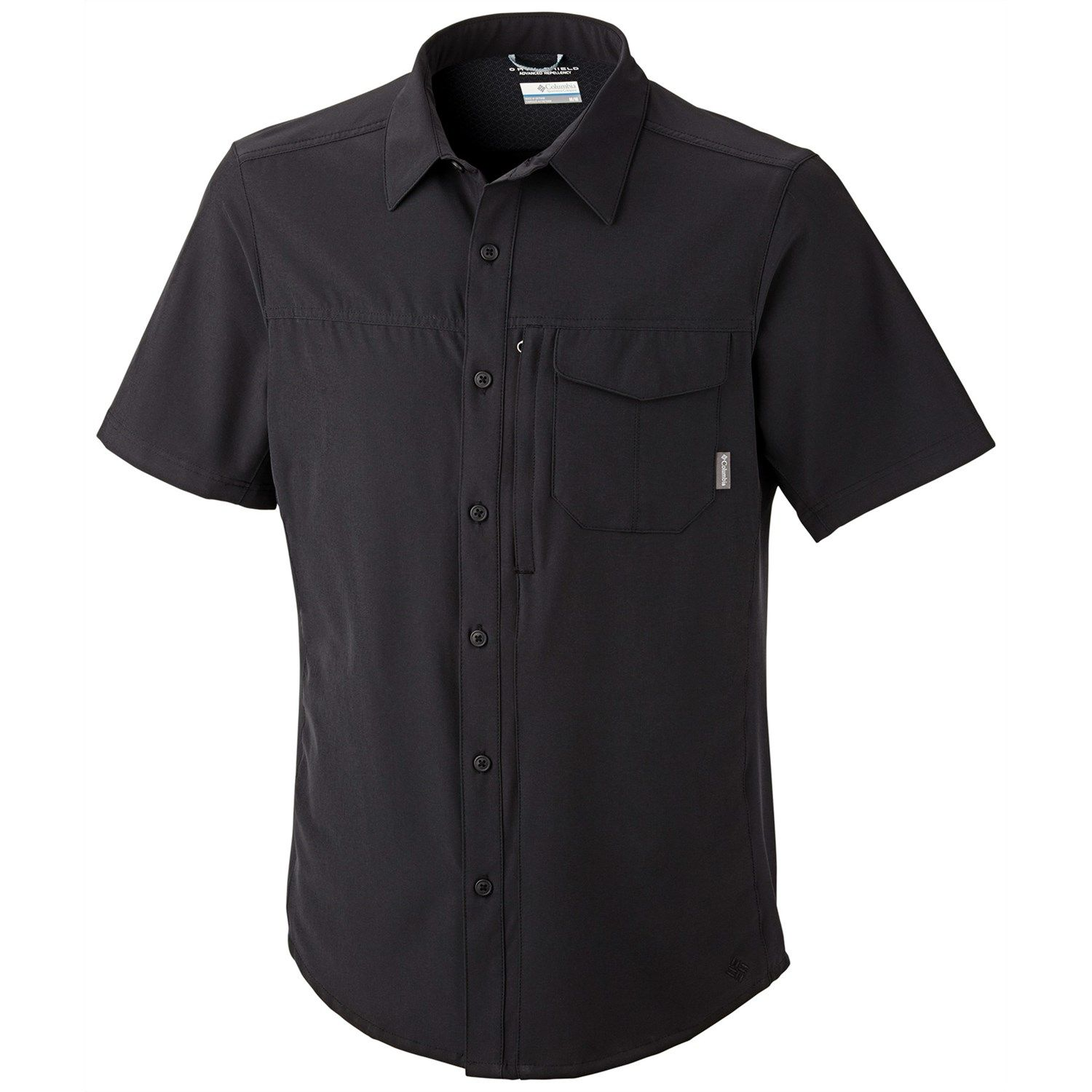 6990e62d8f0 Columbia Sportswear Global Adventure Shirt - UPF 50, Short Sleeve (For Men)  in Black
