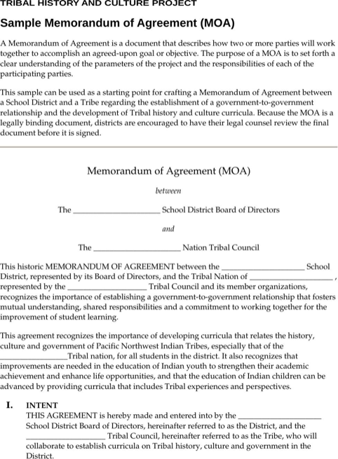 Sample memorandum of agreement templatesforms pinterest sample memorandum of agreement spiritdancerdesigns Gallery