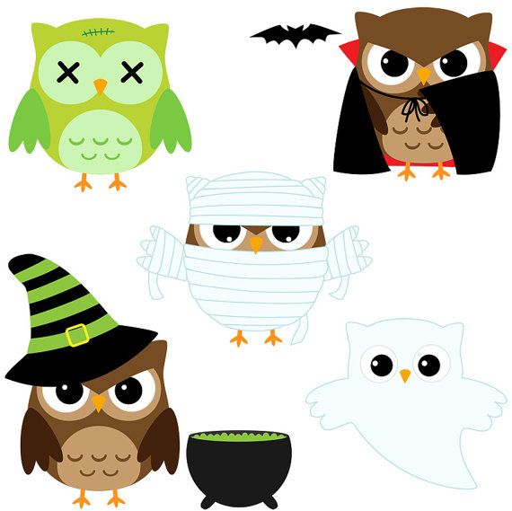 Clip Art Halloween Owl Clip Art hats clip art and fingerprints on pinterest halloween owls