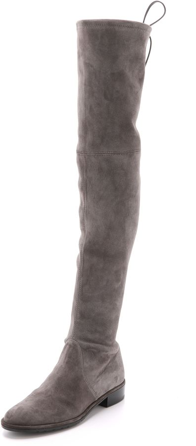dcc8cf3df97 Trending on ShopStyle - Stuart Weitzman Lowland Over the Knee Boots ...