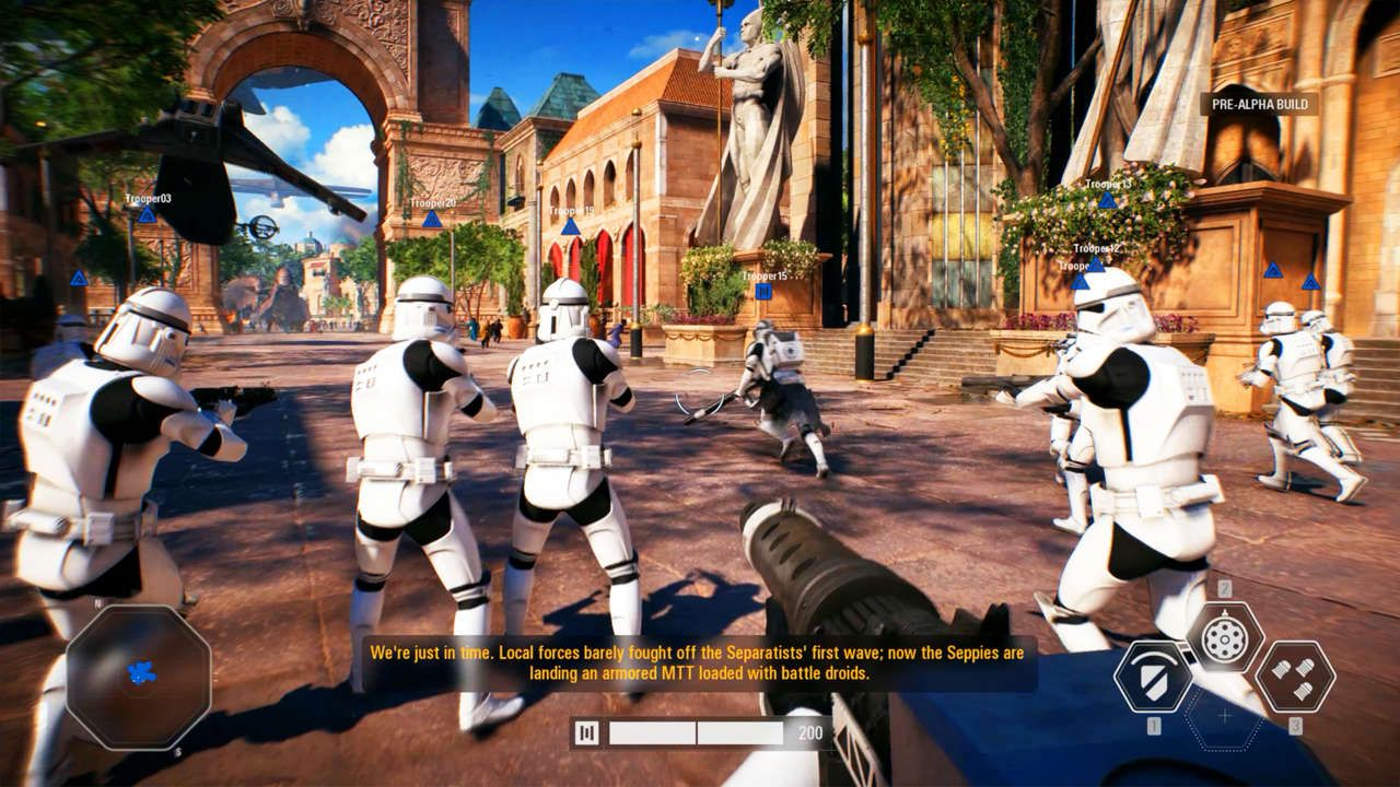 Star Wars Battlefront 2 Pc Ultra Settings Gameplay E3 2017 Https Www Gamespot Com Videos Star Wars Battlefron Star Wars Battlefront Star Wars Battlefront