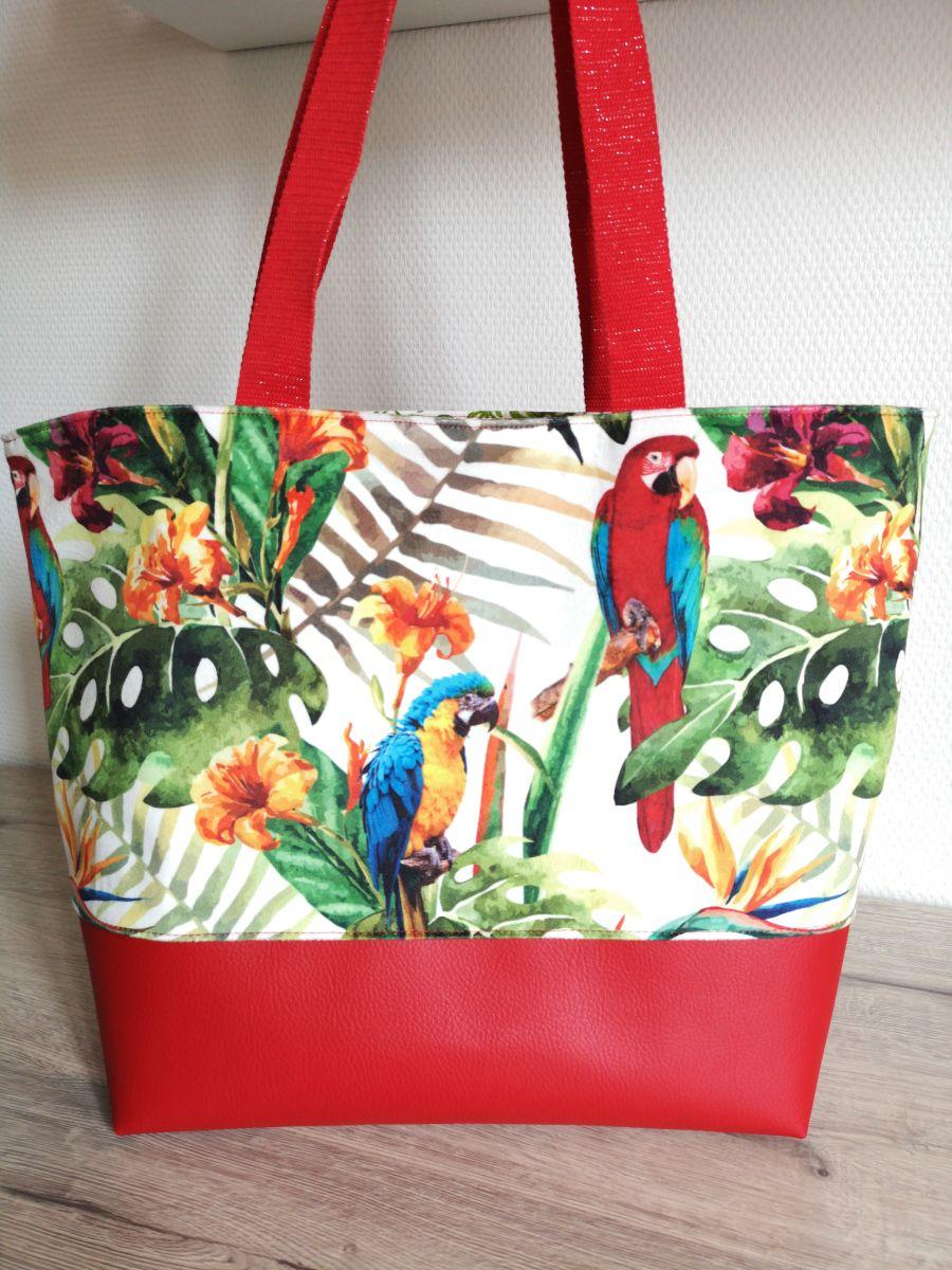 Tuto Tote Bag Madalena : madalena, Dragon, Couture, Plage,, Cabas,, Tutoriel