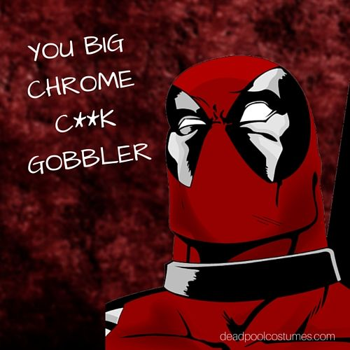 Funny quote from the Deadpool movie. deadpool marvel
