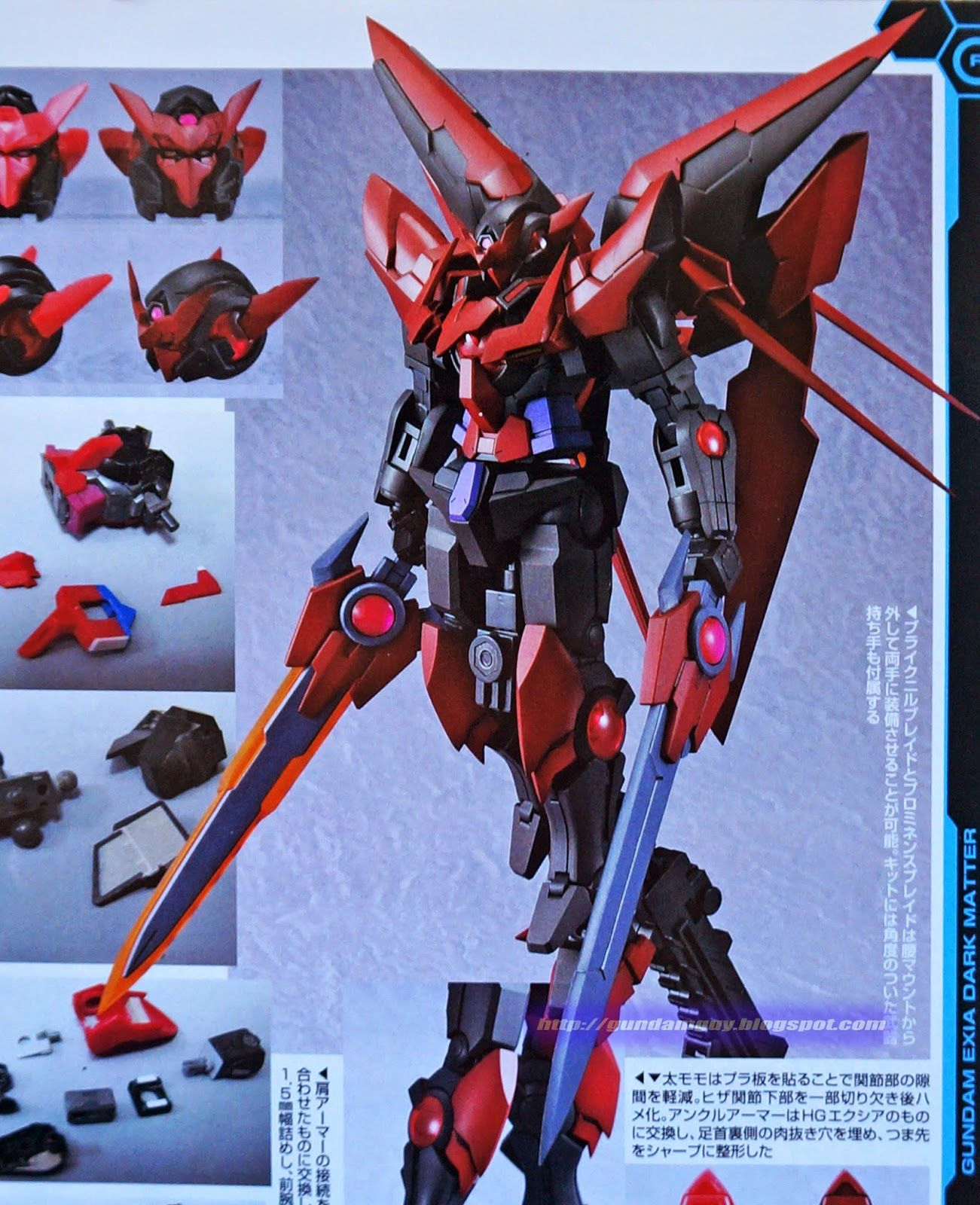 gundam exia dark matter custom - photo #14