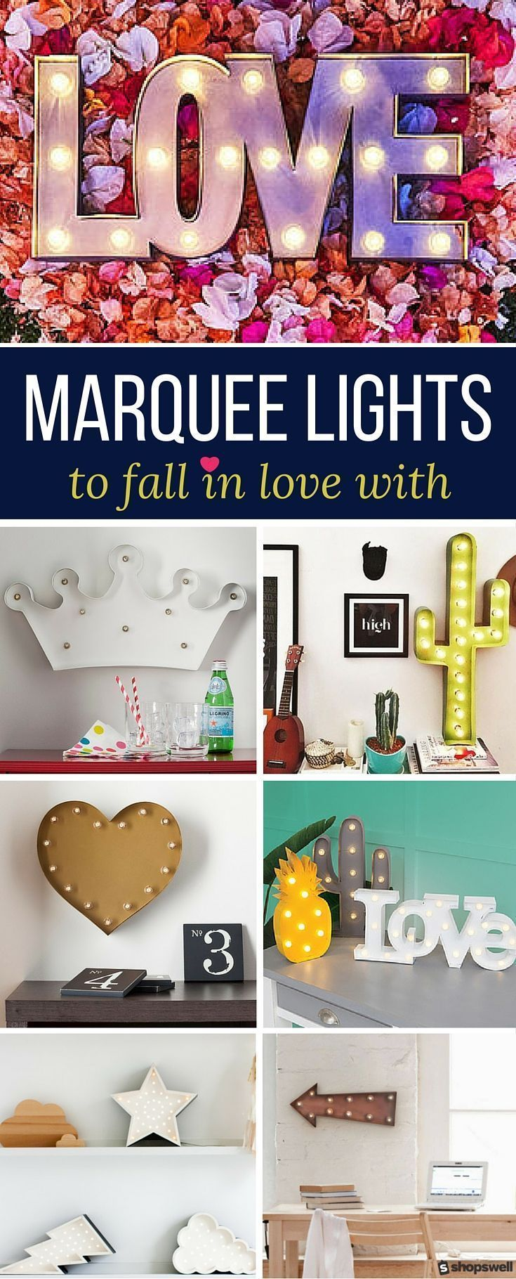 Light It Up: 15 Marquee Lights To Fall In Love With